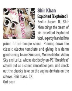 Shir Khan – Exploited – Review 2