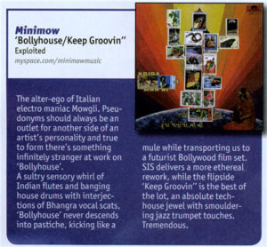 Minimow – Tune of the month in DJ Mag