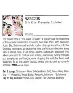 Shir Khan – Exploited – Review