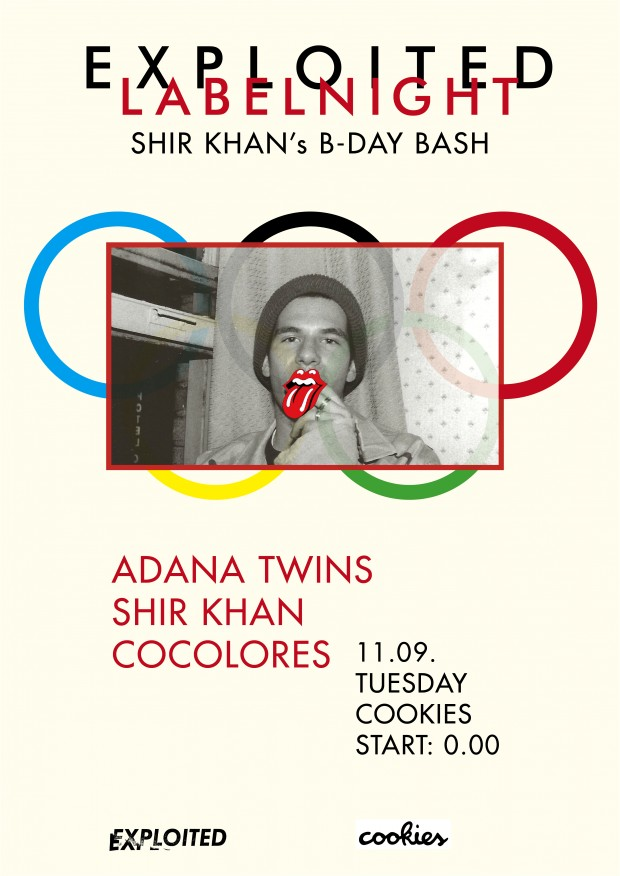 COOKIES SHIR KHAN BDAY