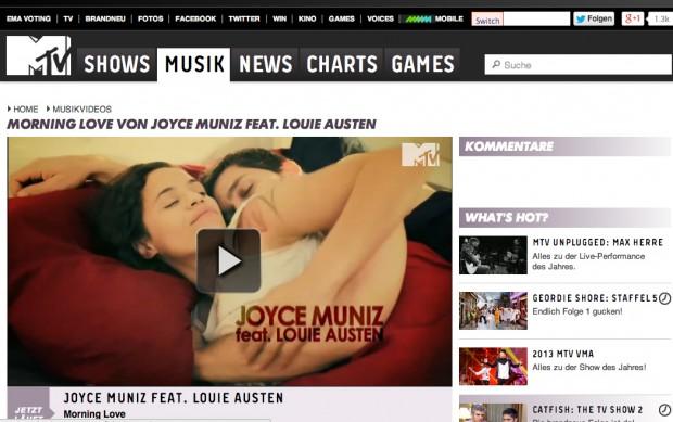 joyce MTV